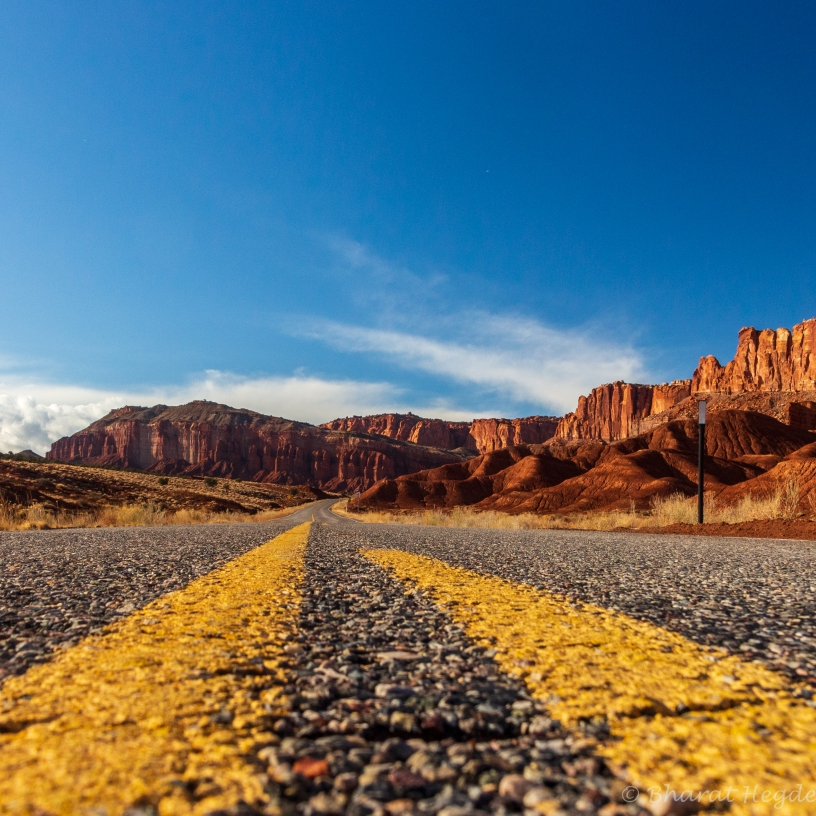 road, capitol reef