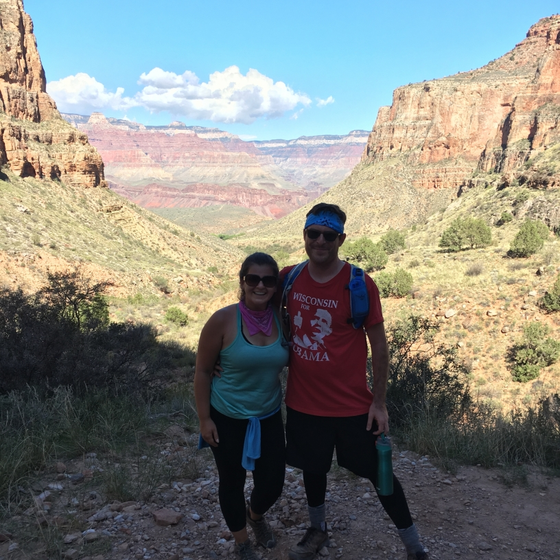 We got engaged at the Grand Canyon!