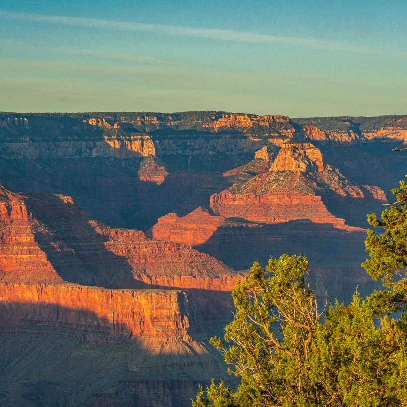 Sunset over The Grand Canyon picture