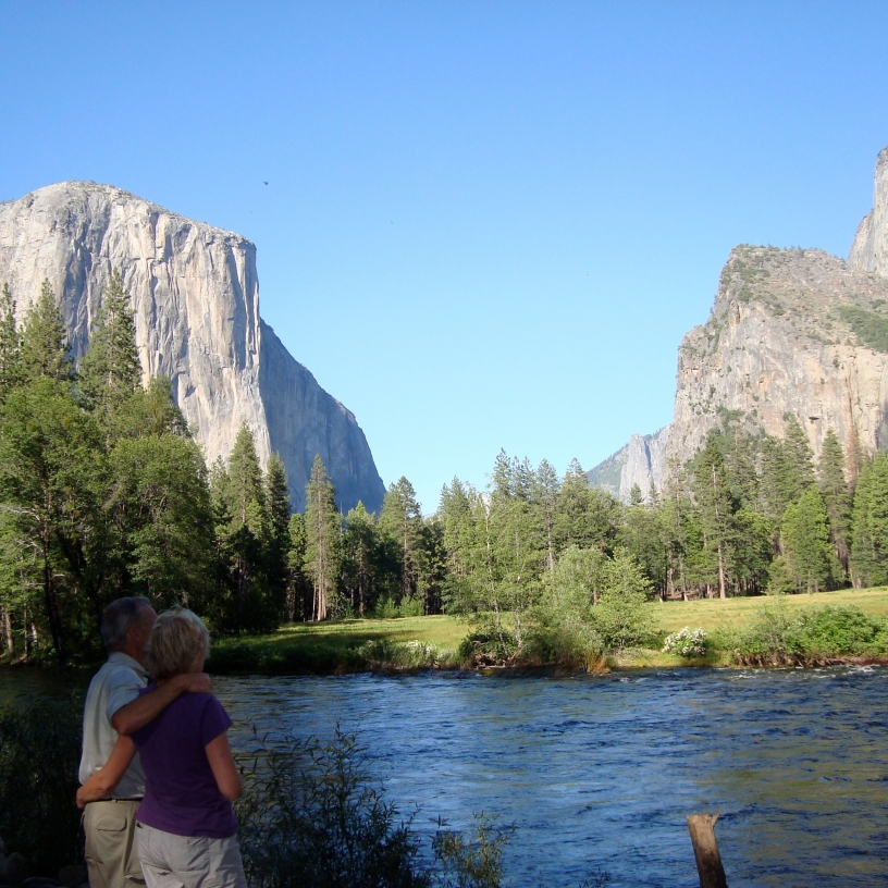 Yosemite - view of El Capitan.
