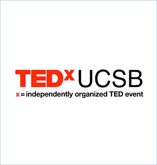 TEDx at UCSB logo