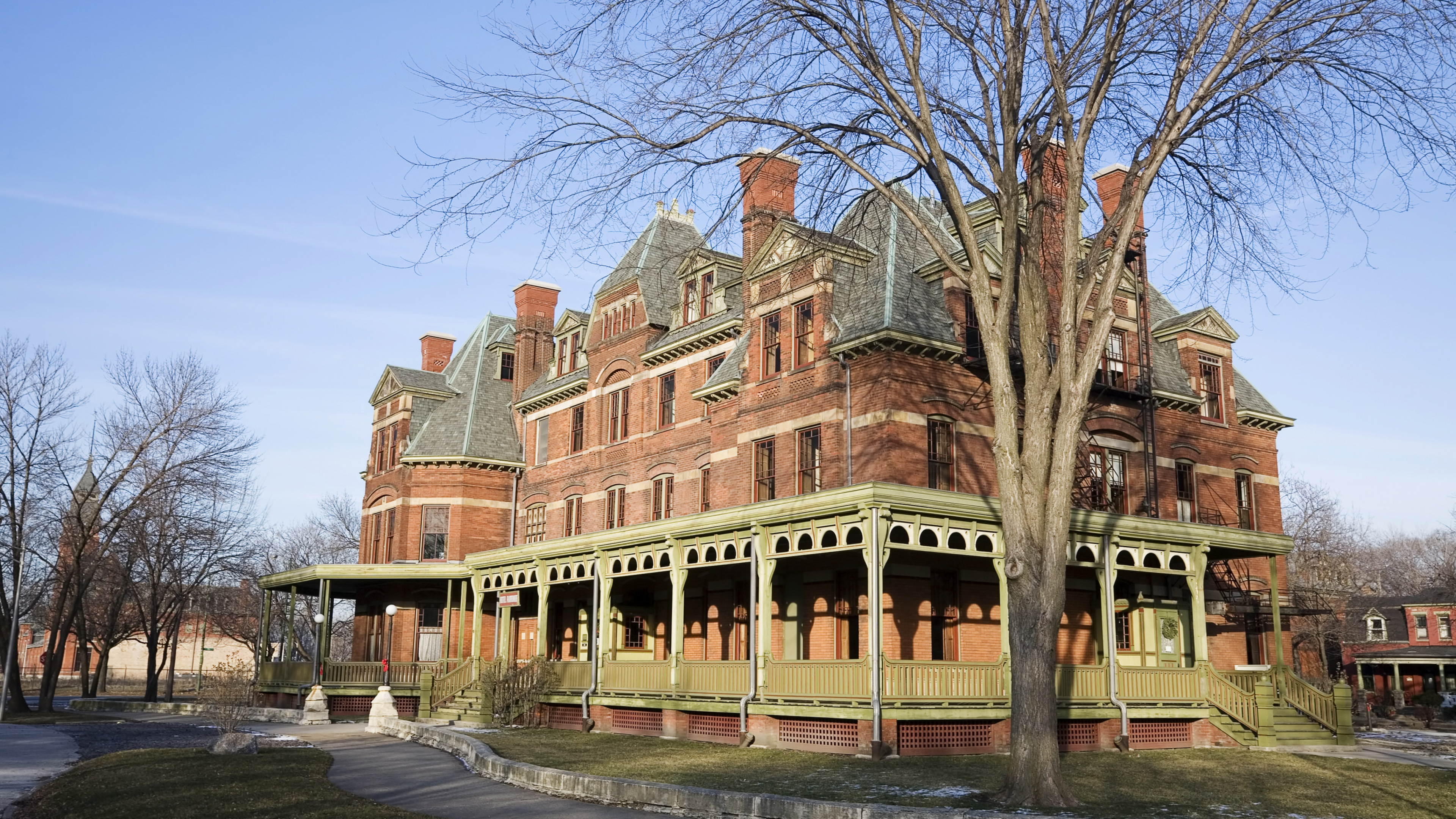 Pullman National Monument building