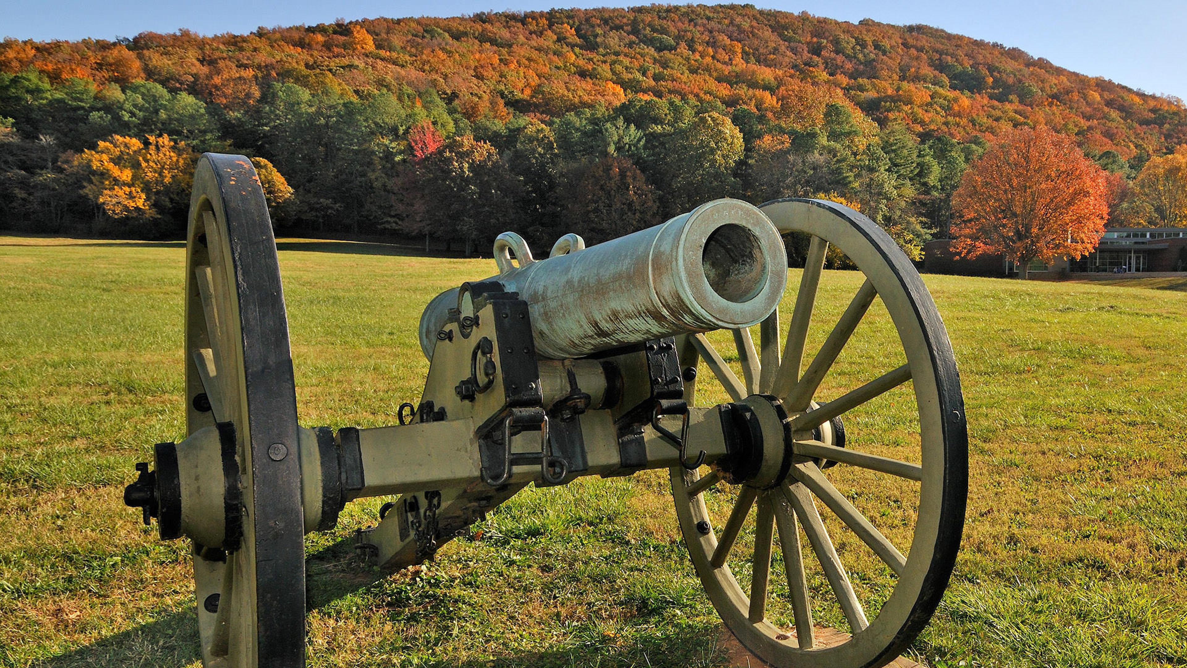 Cannon at Kennesaw Mountain