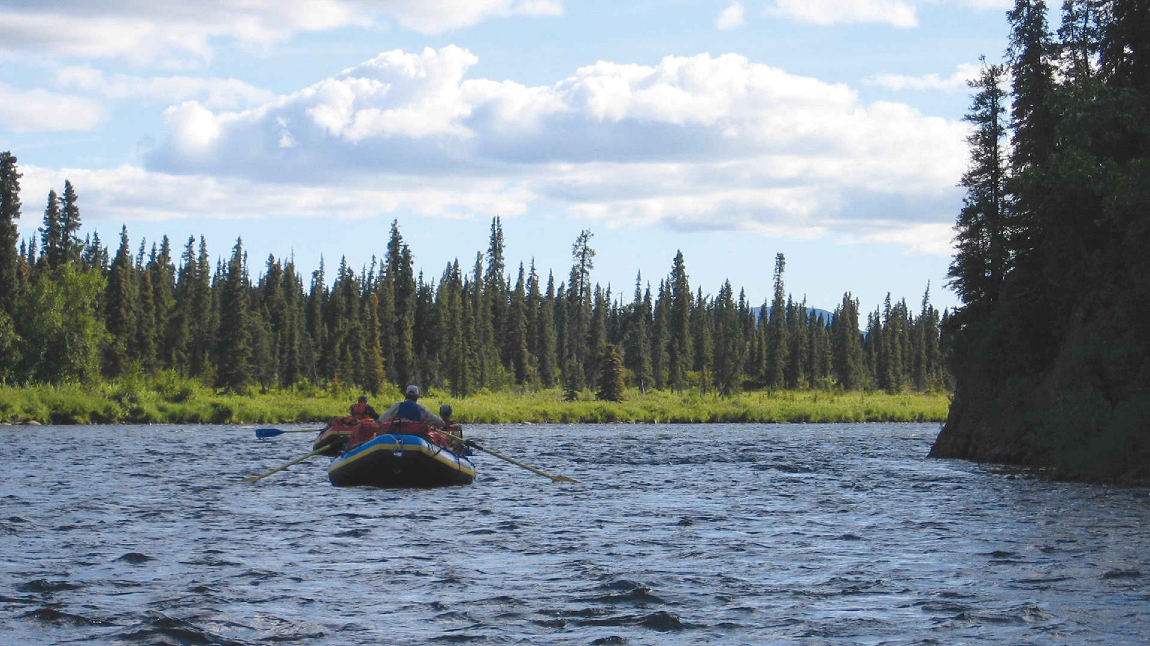 Rafters on the Alagnak Wild River