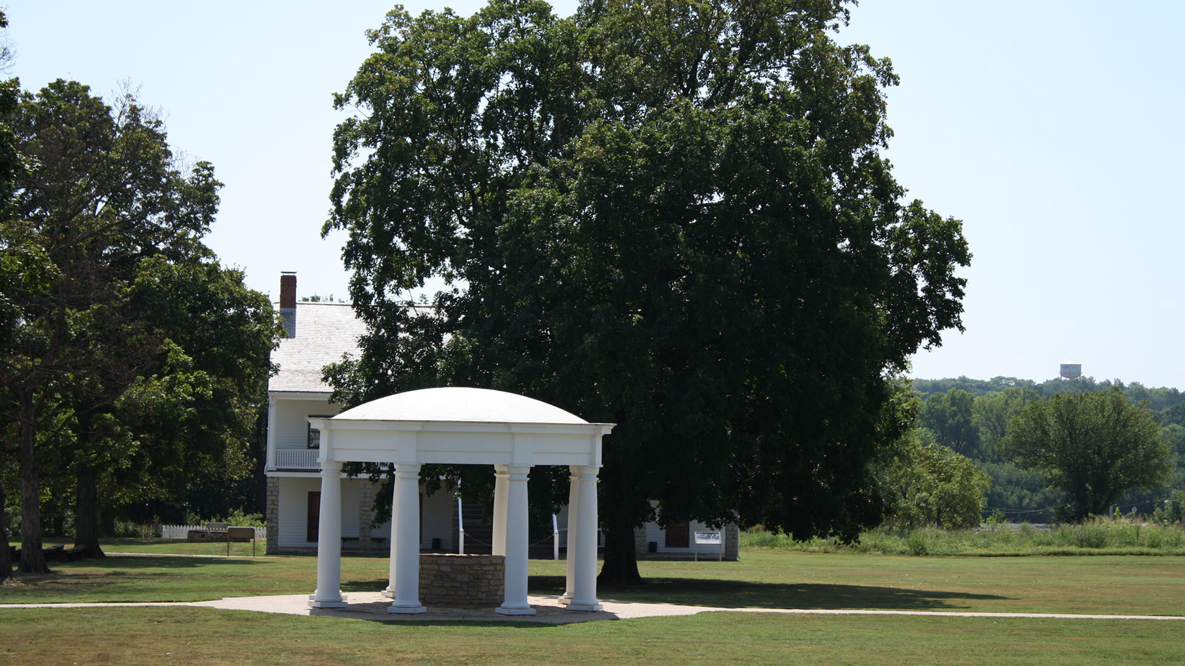 Gazebo at Fort Scott National Historic Site