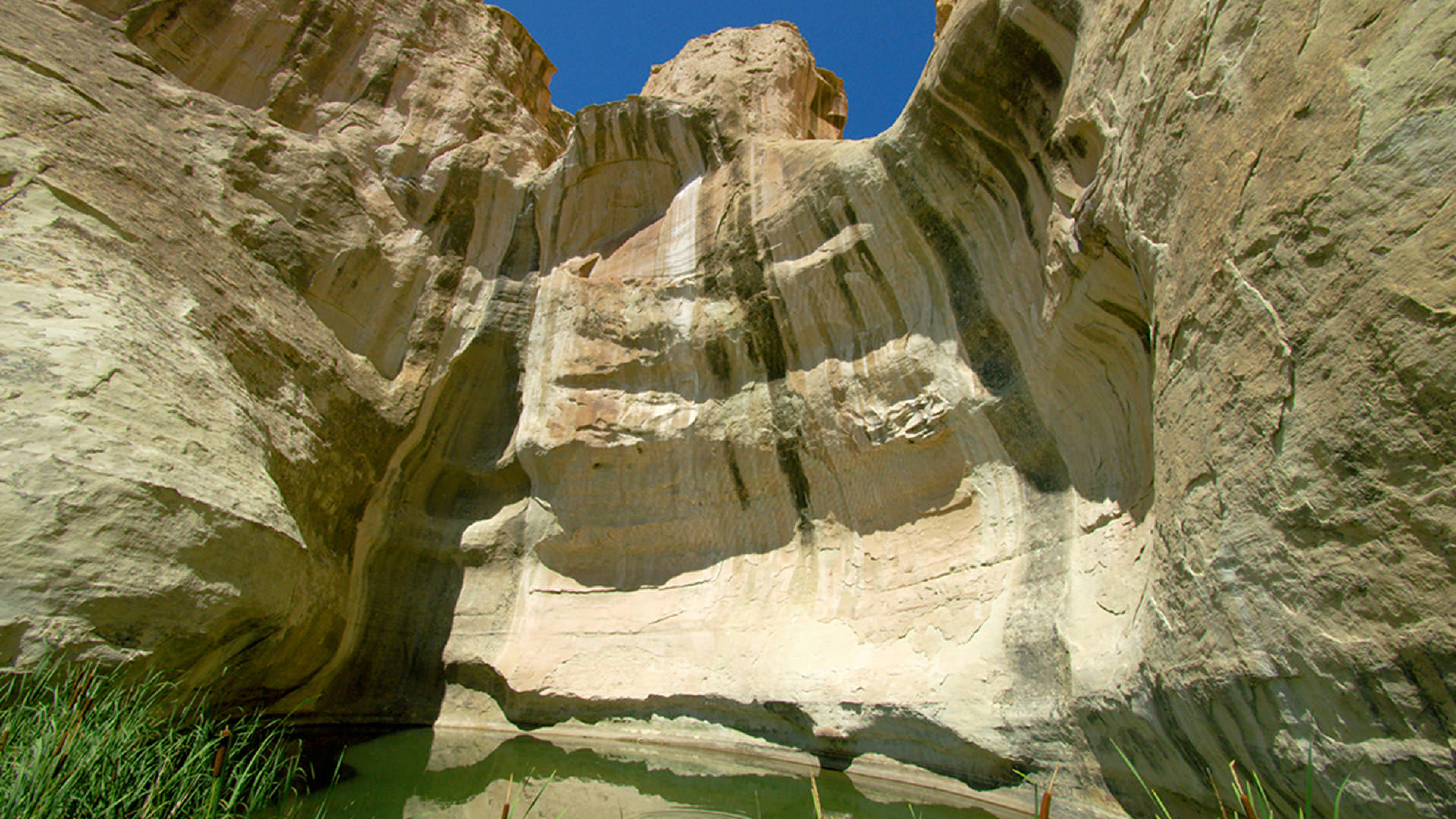 Body of water at El Morro National Monument