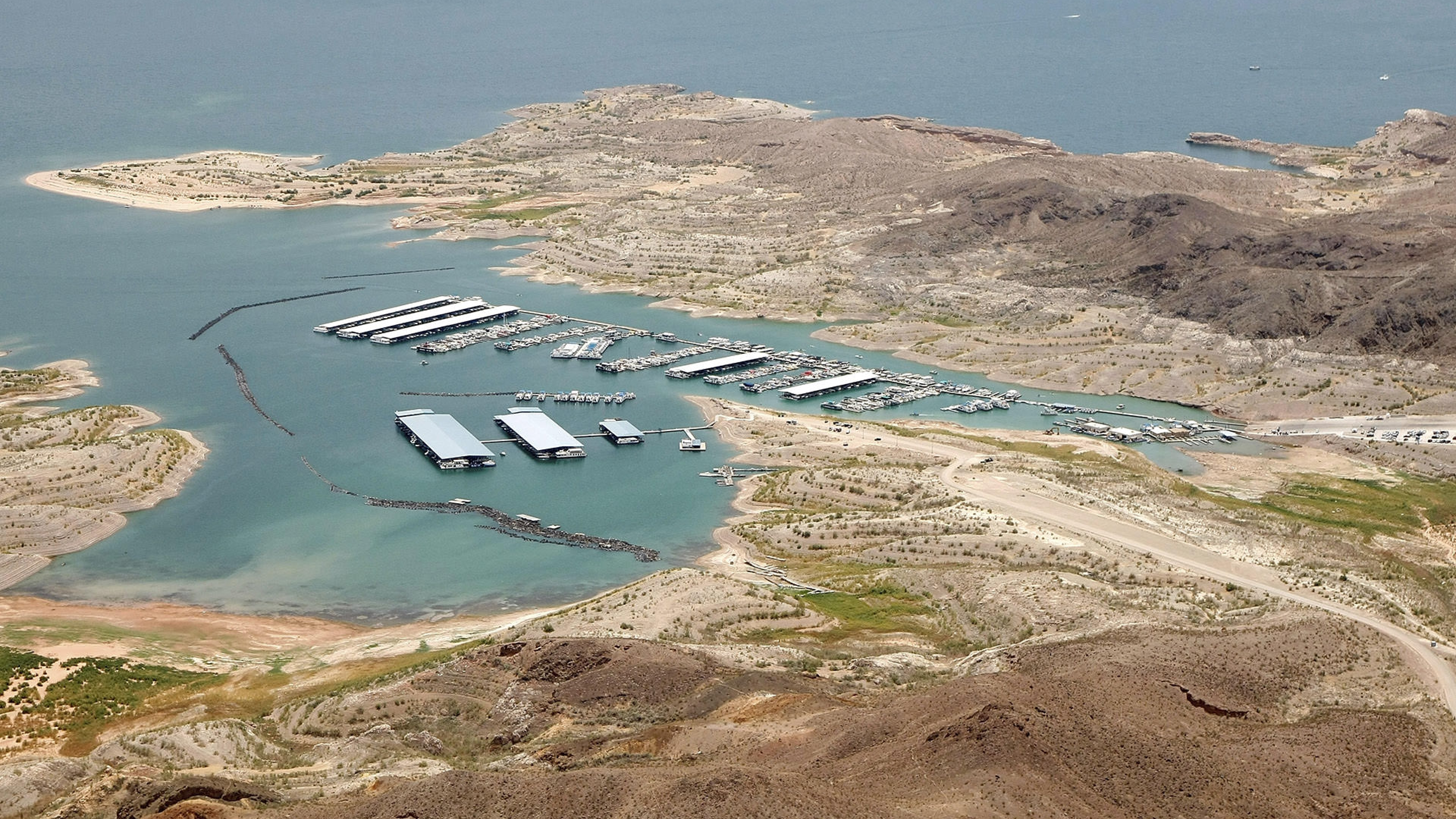 Lake Mead Airview