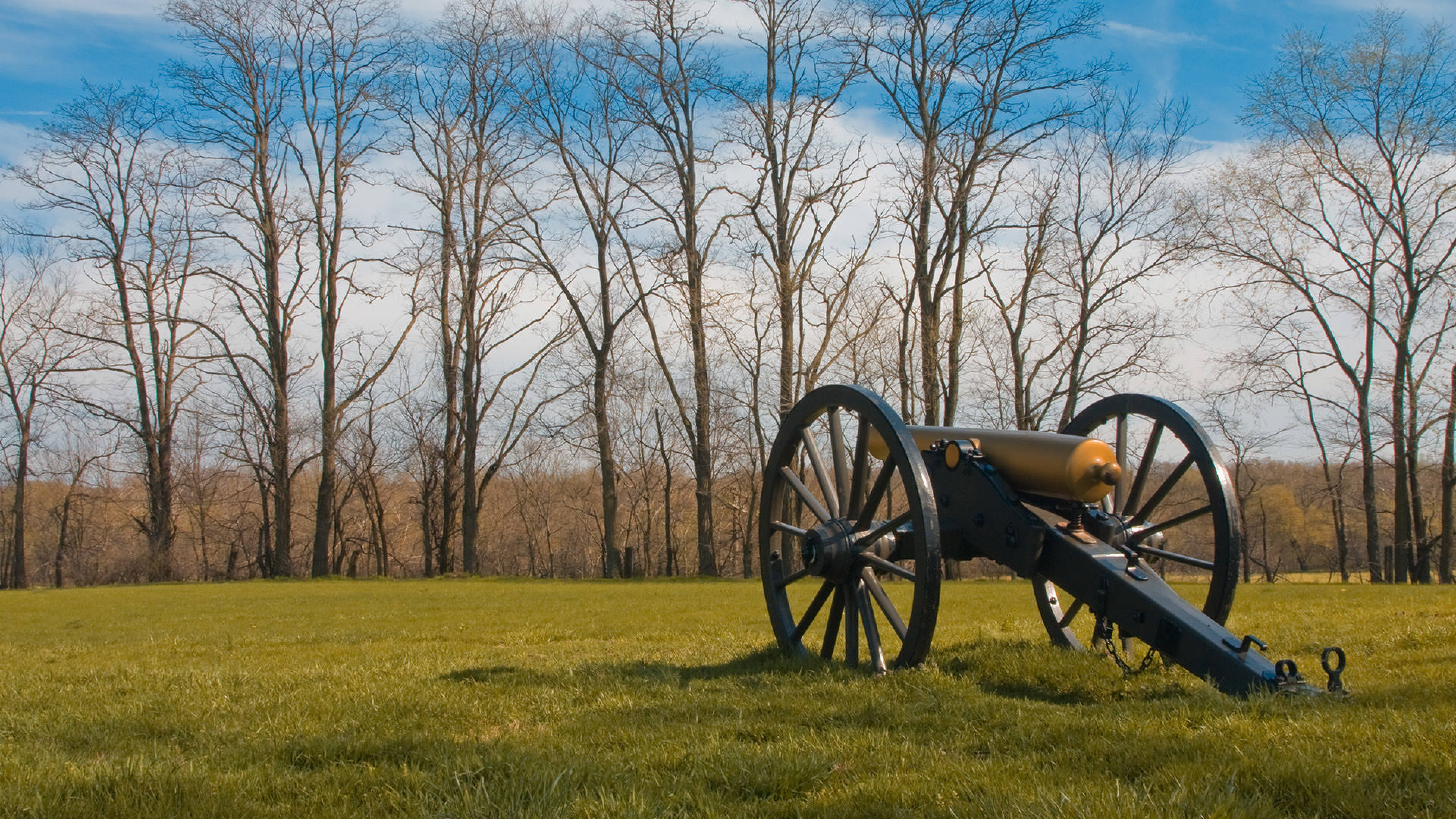 Monocacy National Battlefield Cannon