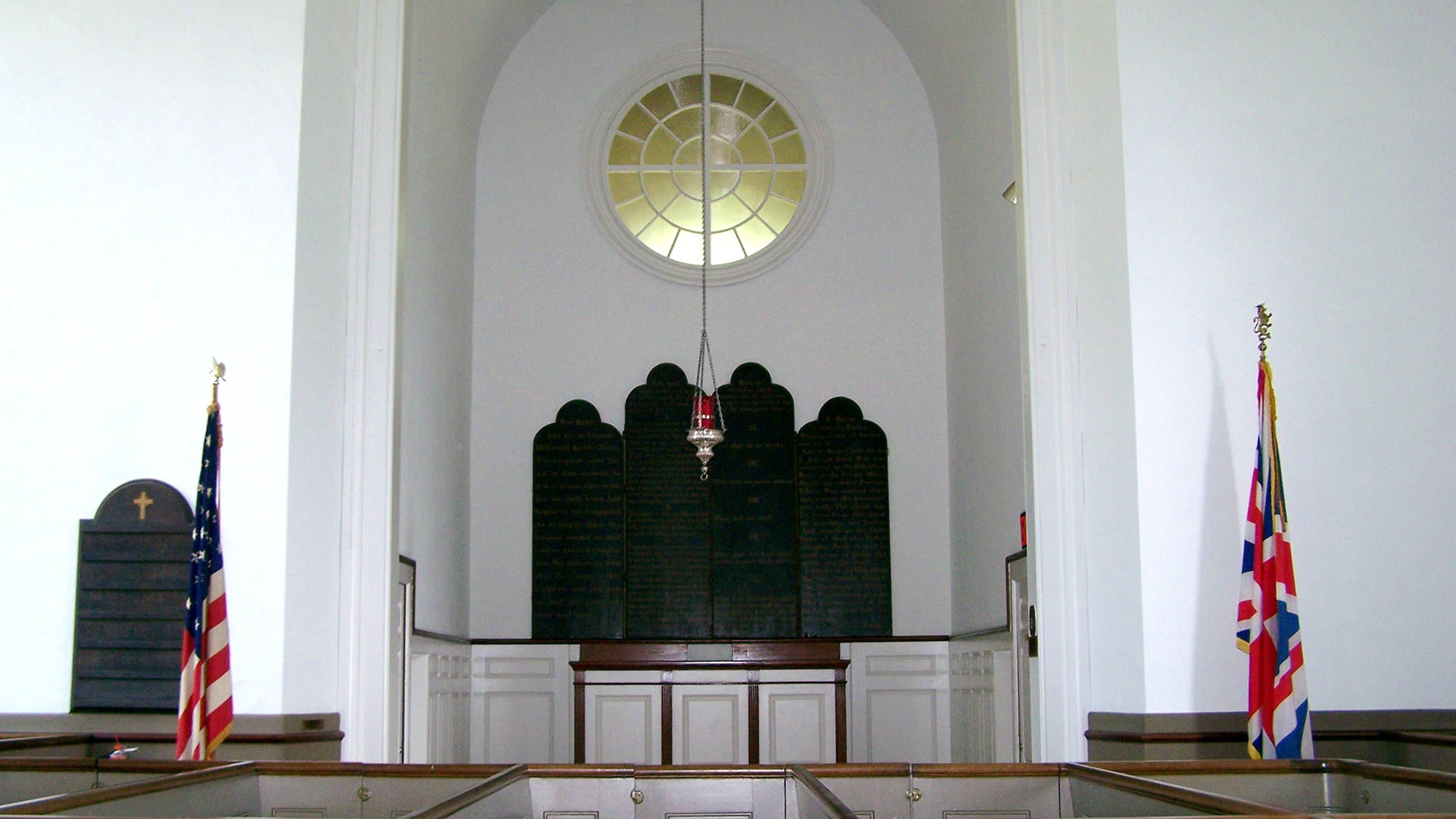 alter of historic church