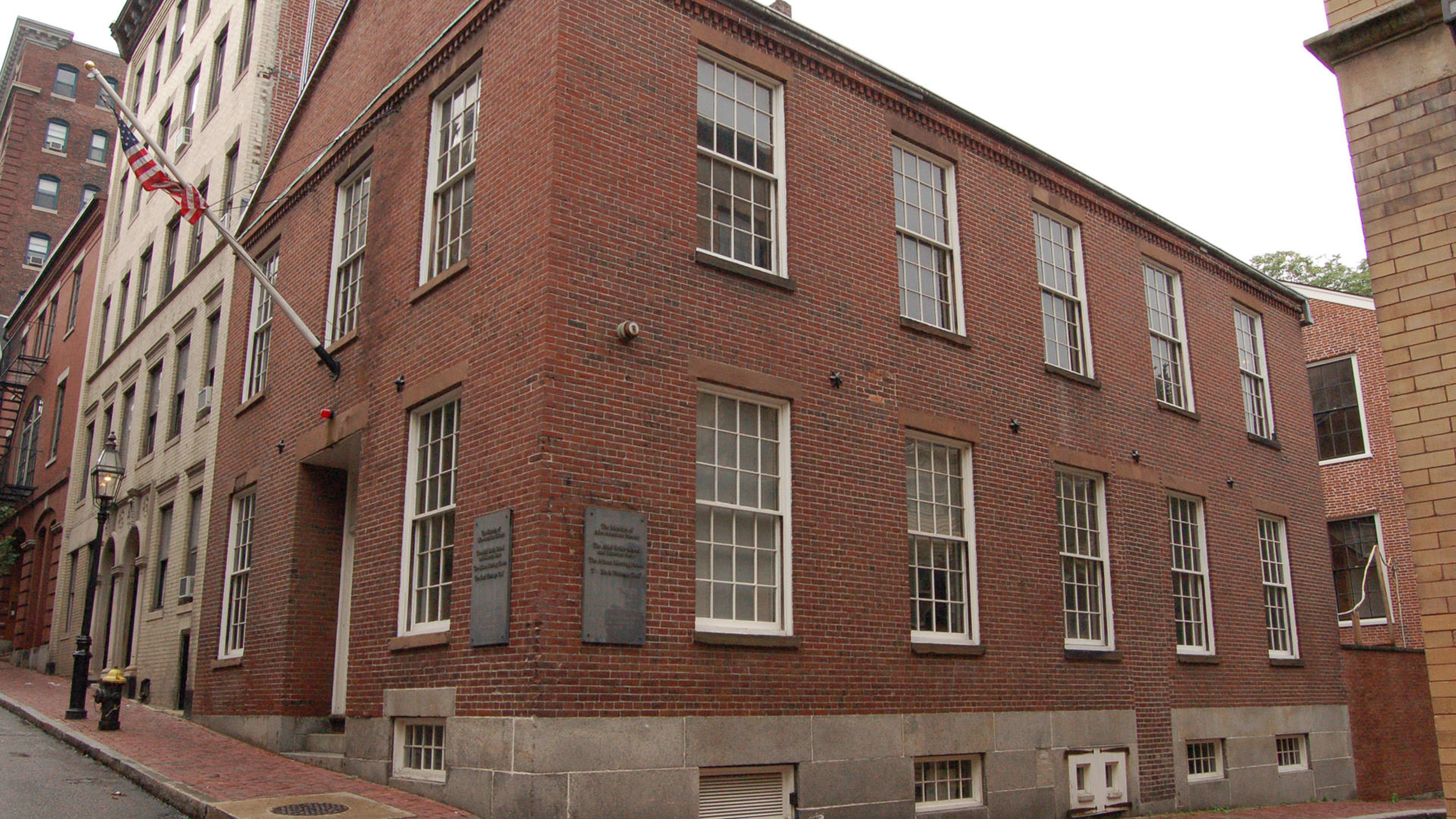 Abel Smith School at the Boston African American National Historic Site