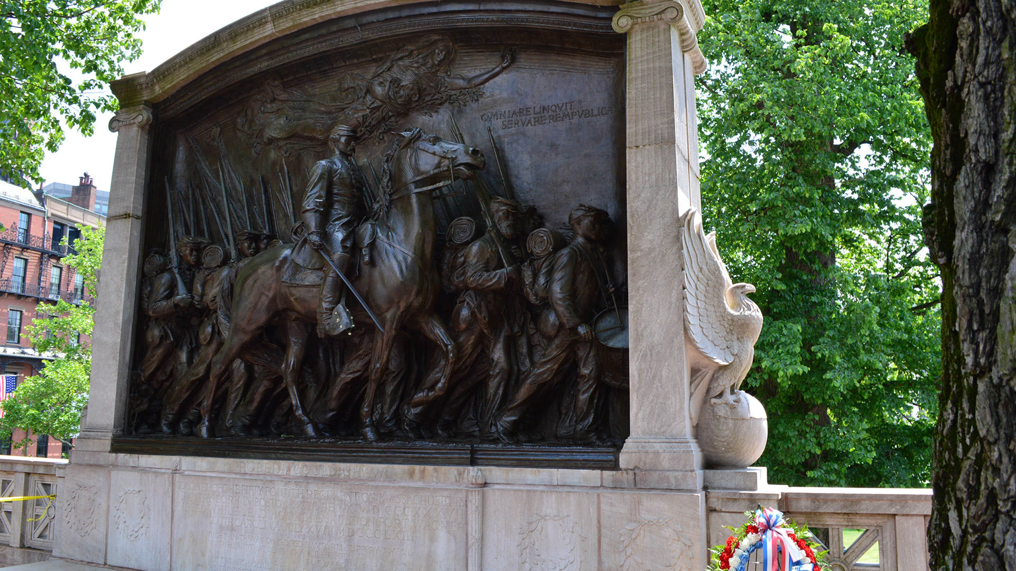 Robert Gould Shaw Memorial at the Boston African American National Historic Site