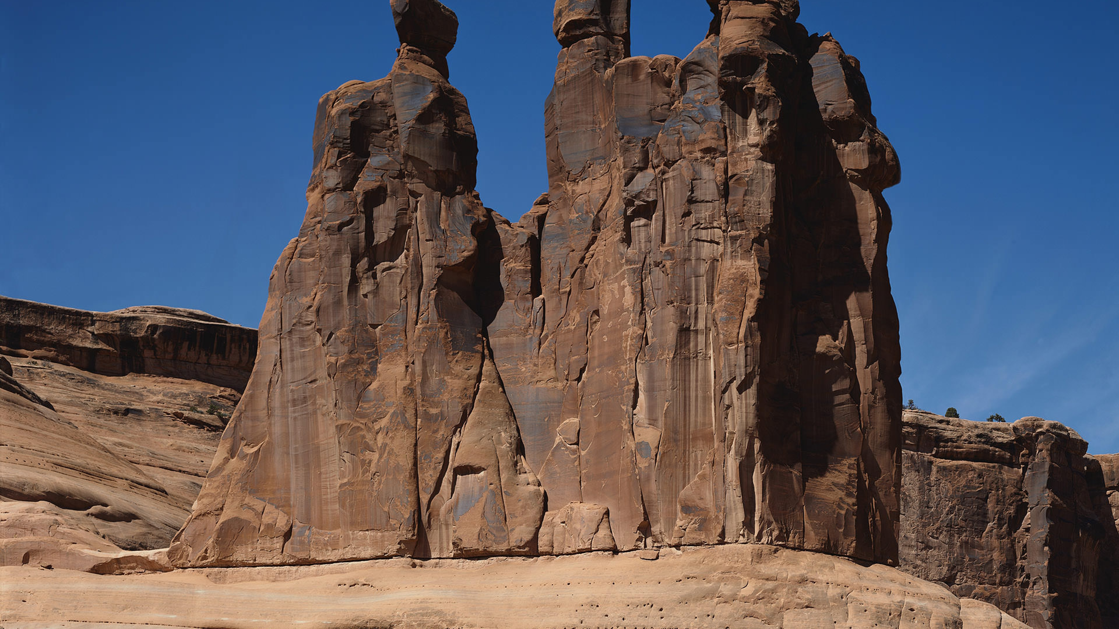 Rock formations at Arches National Park