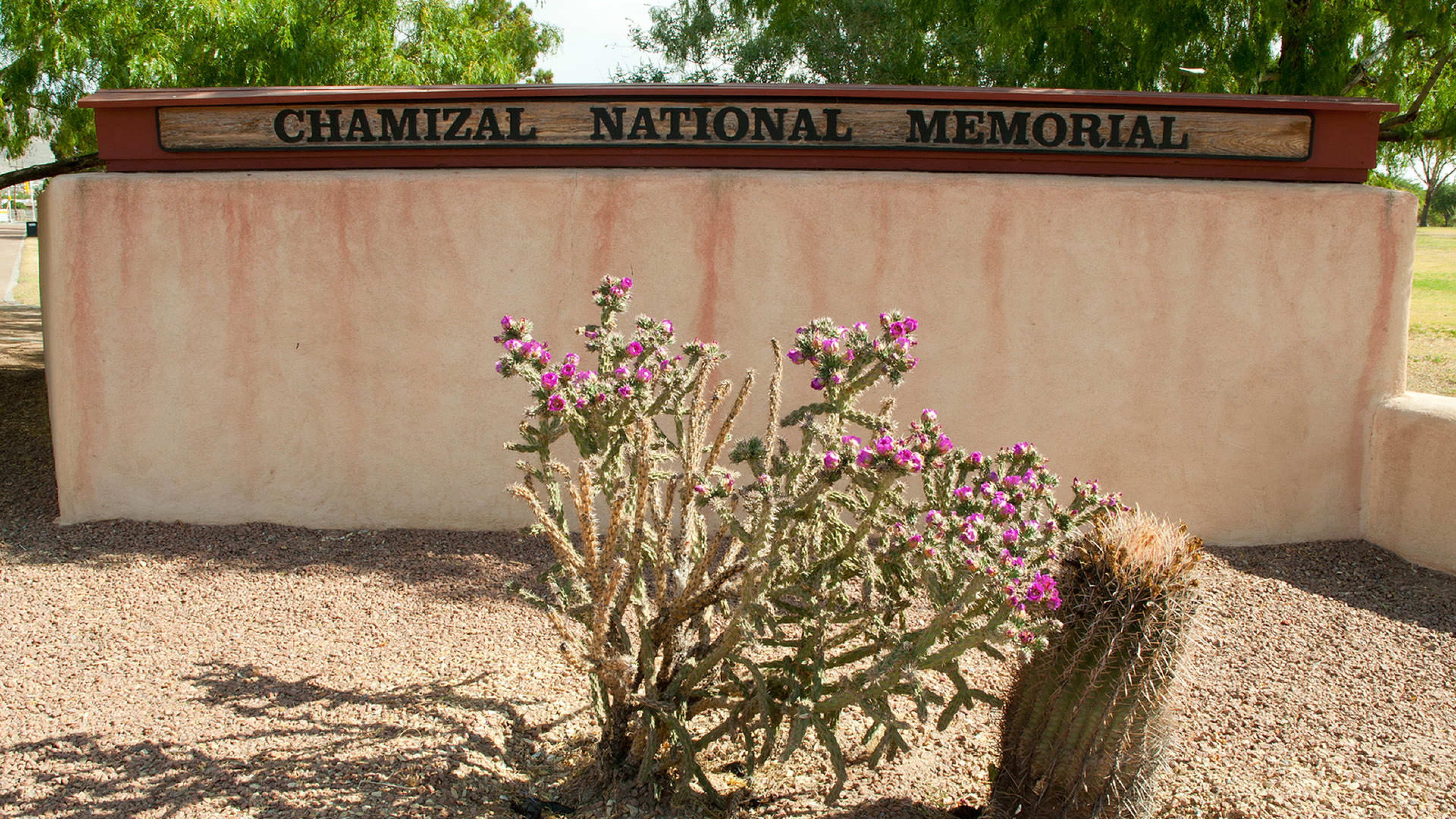 Sign for Chamizal National Memorial