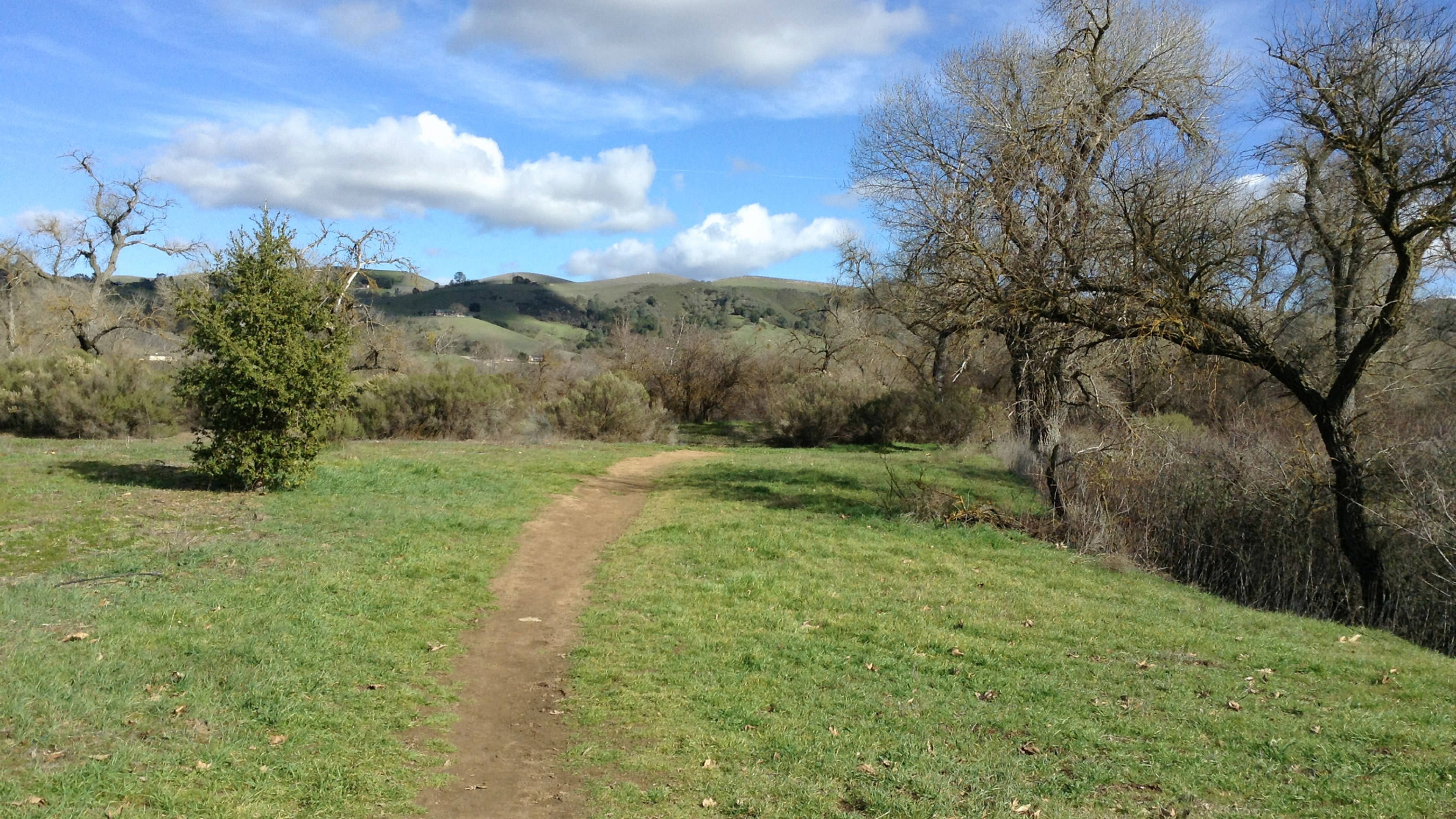 Worn path of the Juan Bautista de Anza National Historic Trail