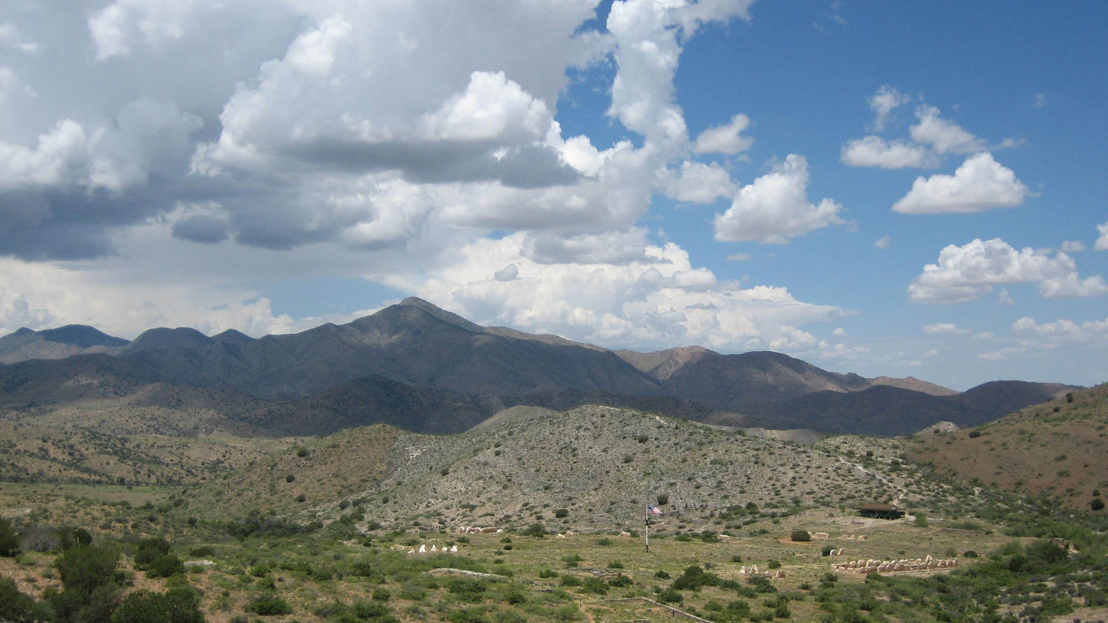 Mountain Range at Fort Bowie National Historic Site