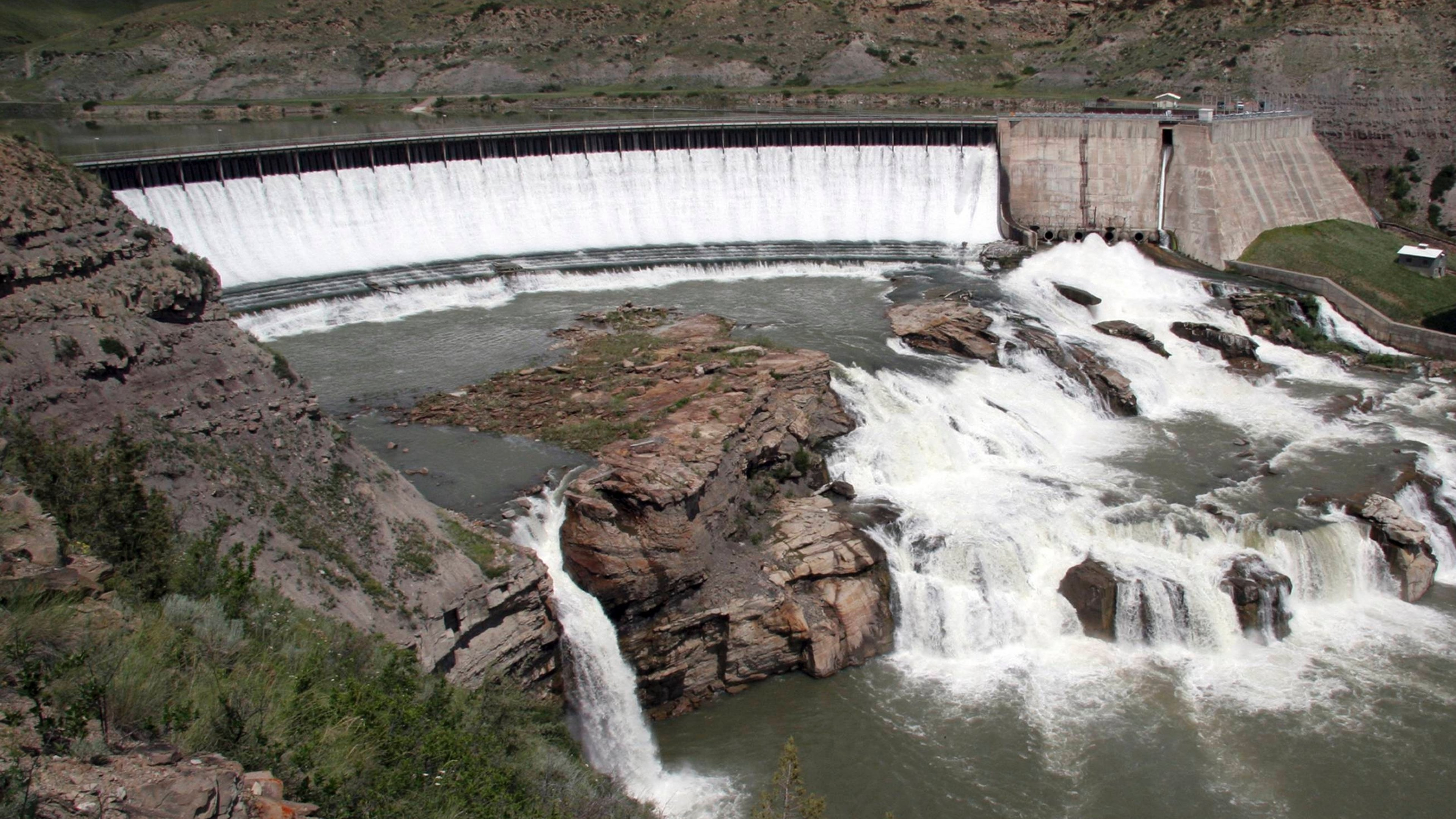 Great Falls of the Missouri River along the Lewis and Clark National Historic Trail