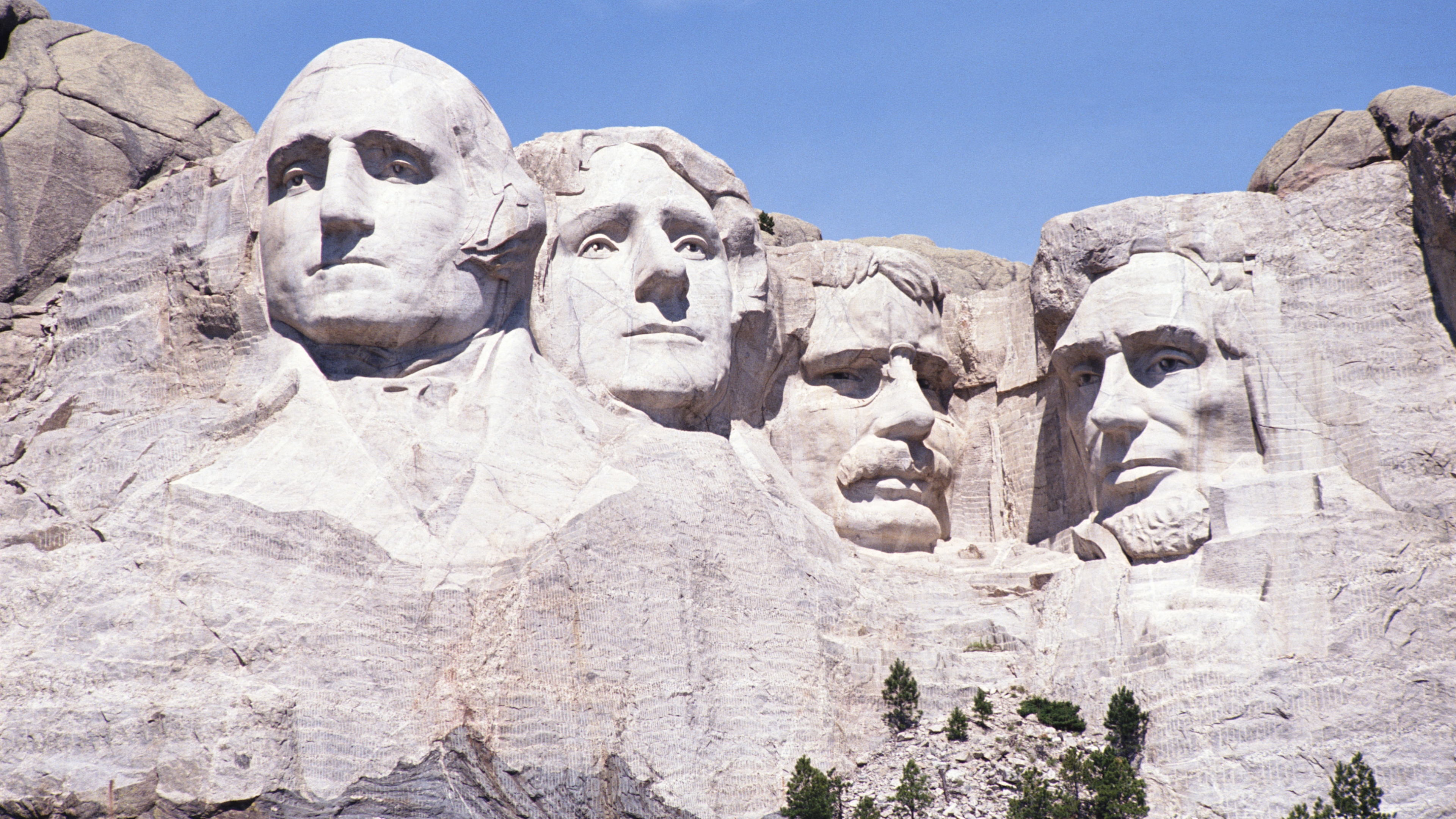 Mount Rushmore during the day
