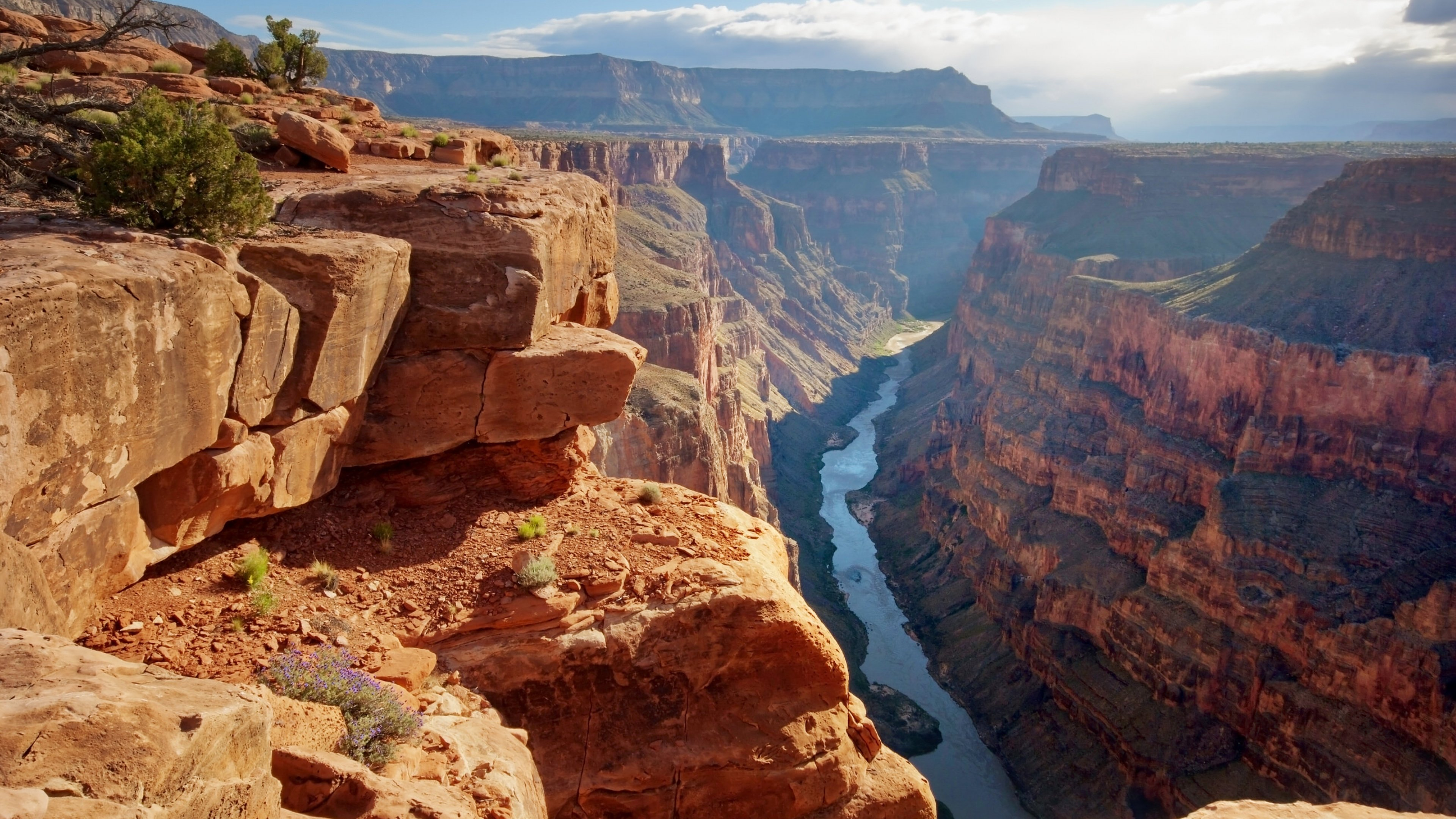 Colorado River running through Grand Canyon National Park