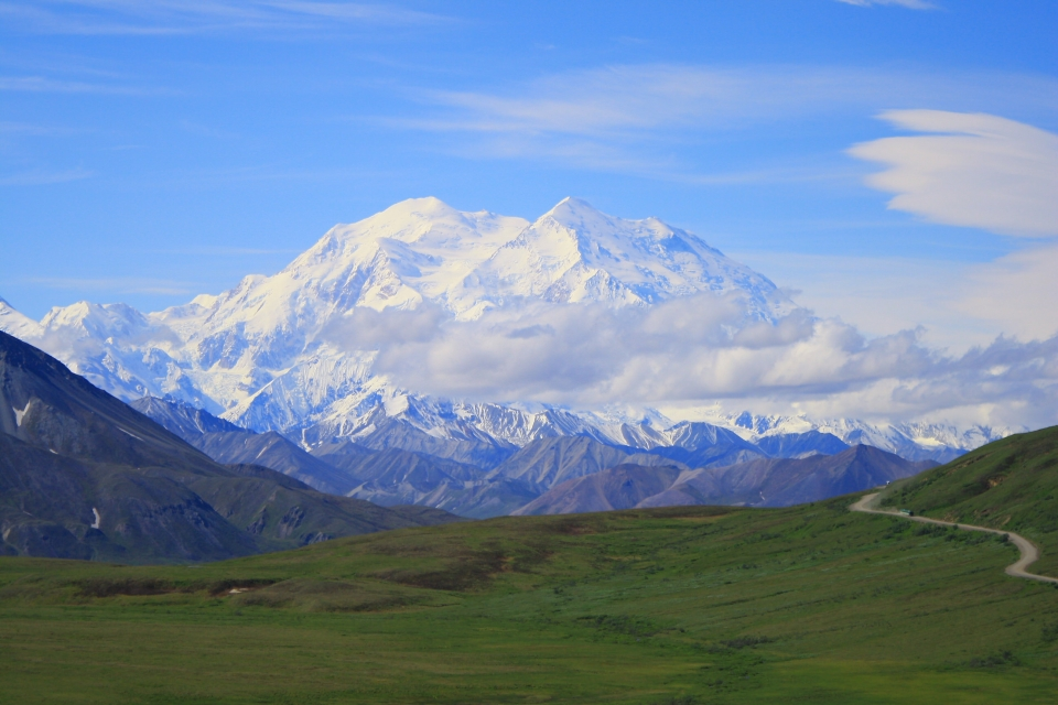 Mount Denali at Denali National Park & Preserve