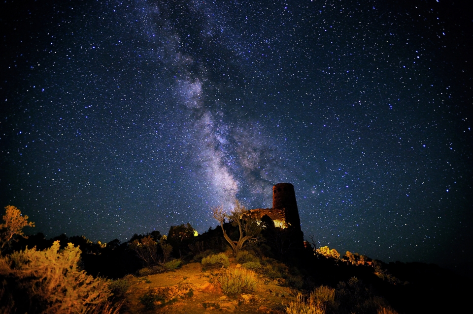 Milky Way at Grand Canyon National Park