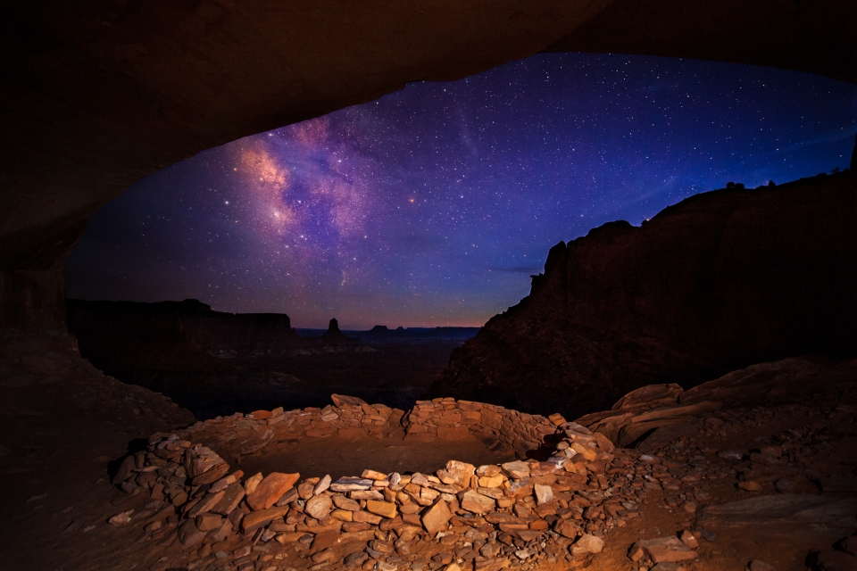 Milky Way at Canyonlands National Park