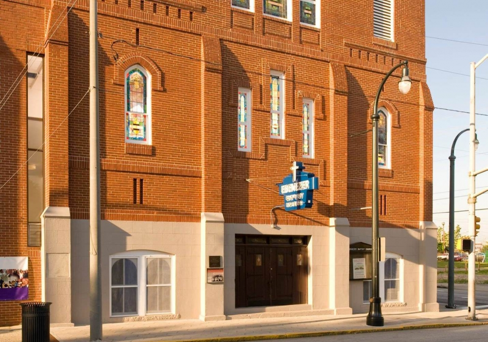 Ebenezer Baptist Church at the Martin Luther King Jr. National Historic Site