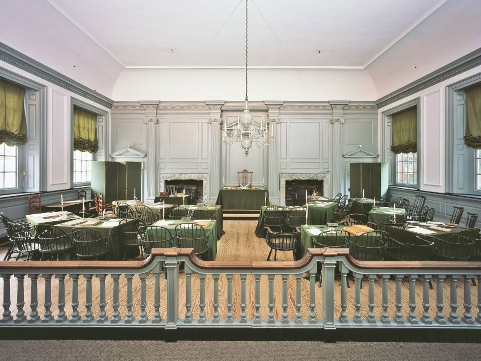 Assembly Room at Independence Hall