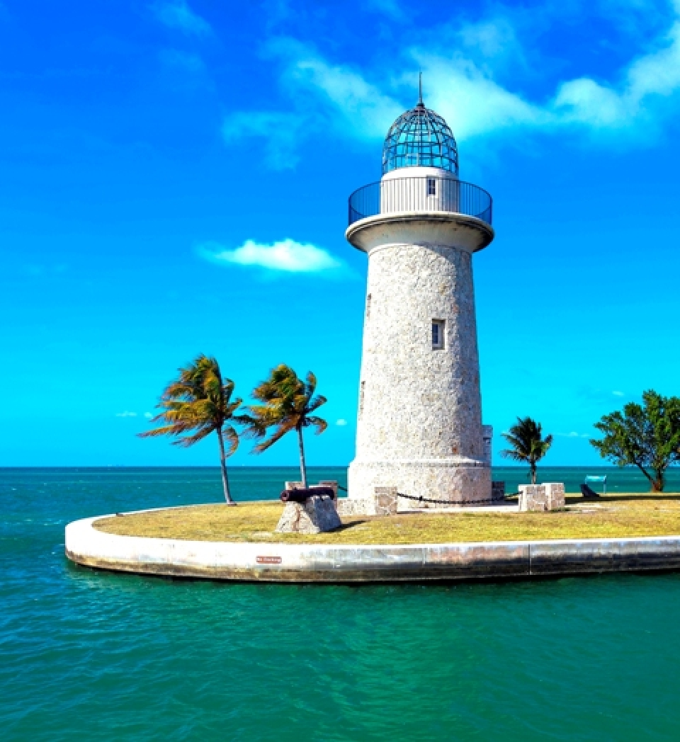Lighthouse at Biscayne National Park