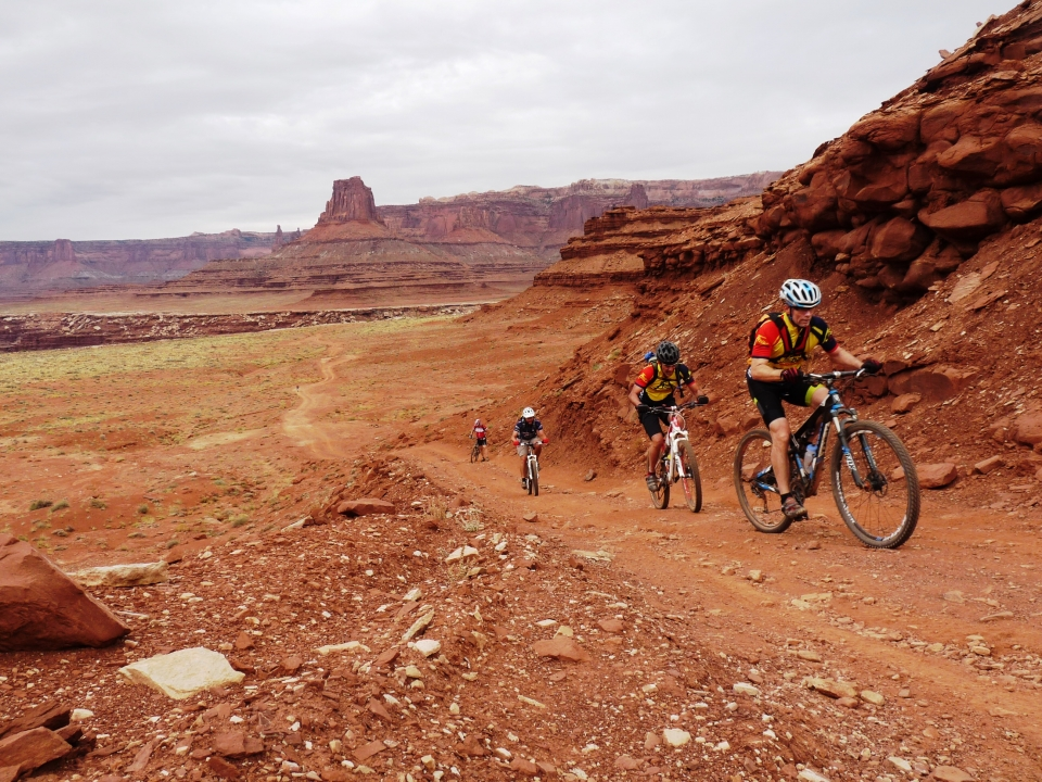 Mountain Biking at Canyonlands National Park
