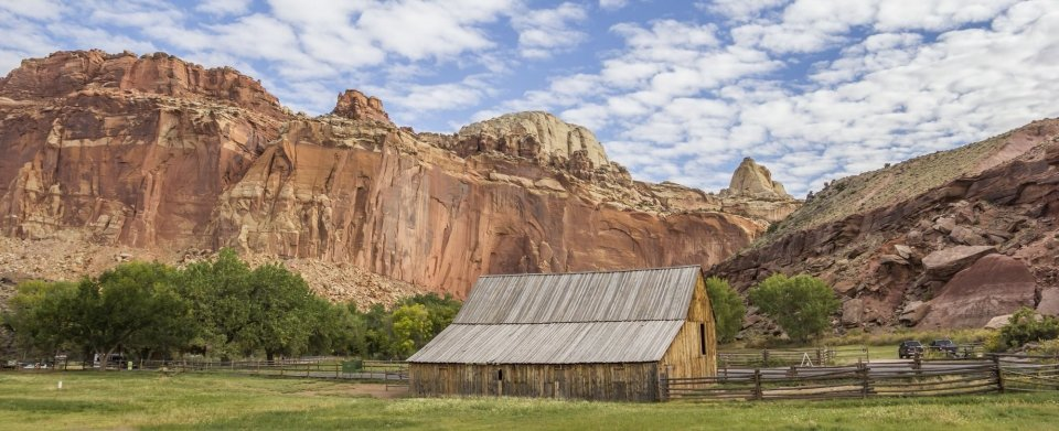 The Gifford barn at Capitol Reef National Park