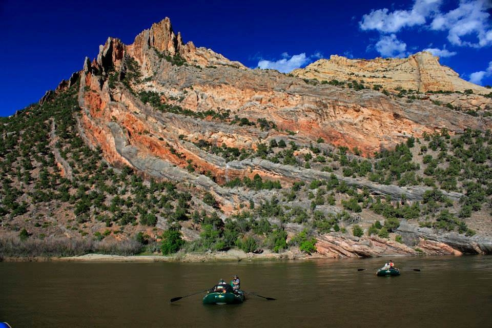 Rafting at Dinosaur National Monument