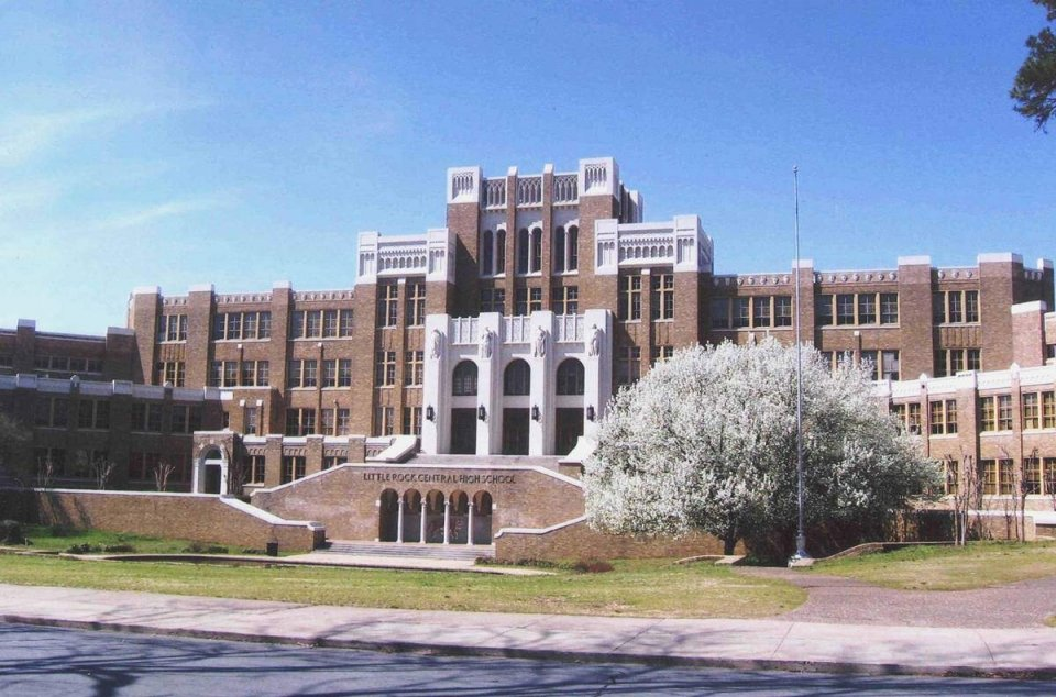 Little Rock Central High School building