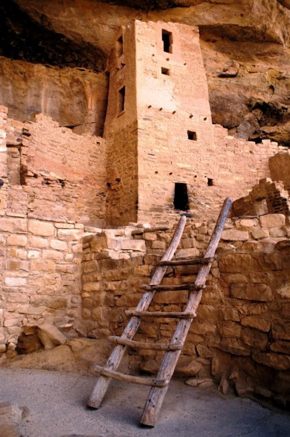 Ancient Native American settlements at Mesa Verde National Park