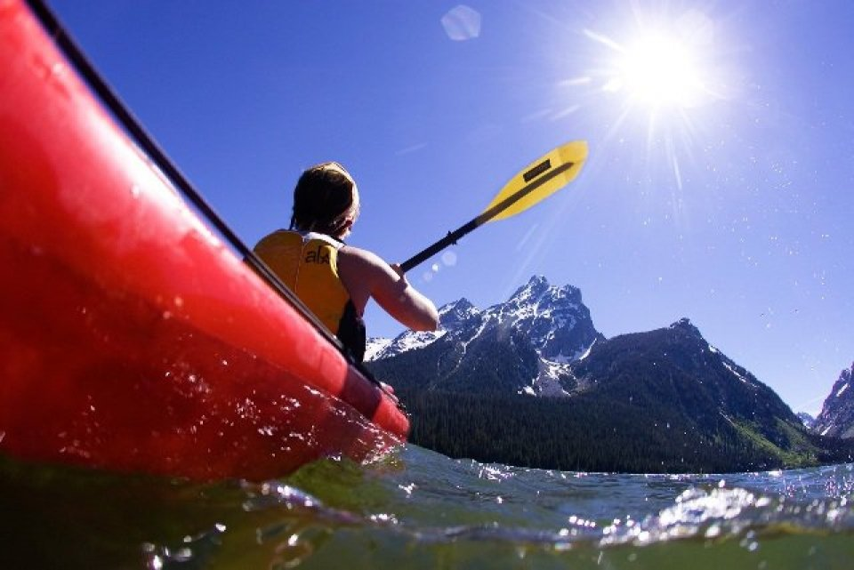 Kayaking at Grand Teton