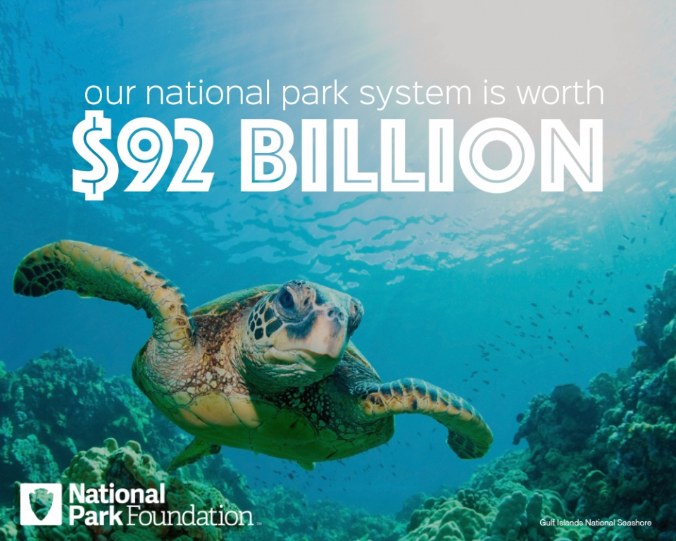 """Our national park system is worth $92 billion"""