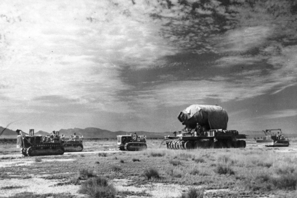 Nuclear testing took place at the Trinity testing site