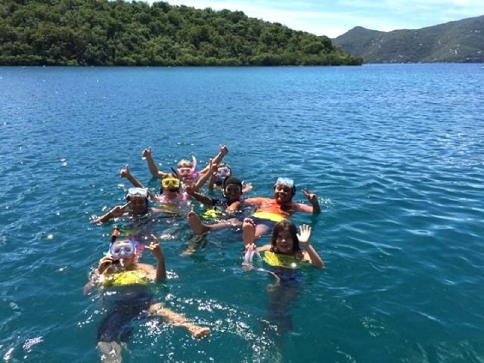 Image of Virgin Islands Ticket to ride Swimmers
