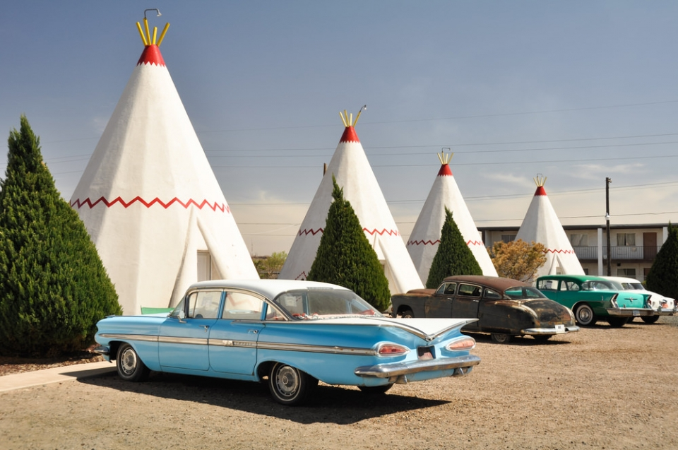 Wigwam Motel located on Route 66