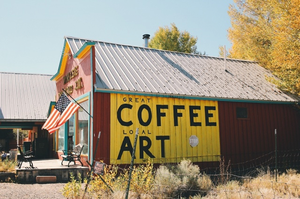 Coffee shop near Great Sand Dunes