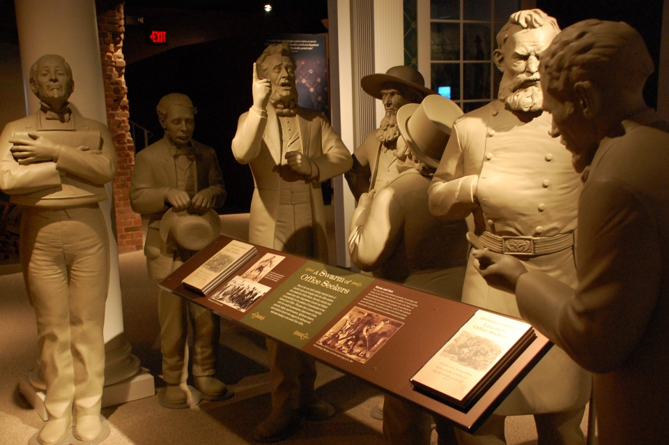 A Museum exhibit within Ford's Theater