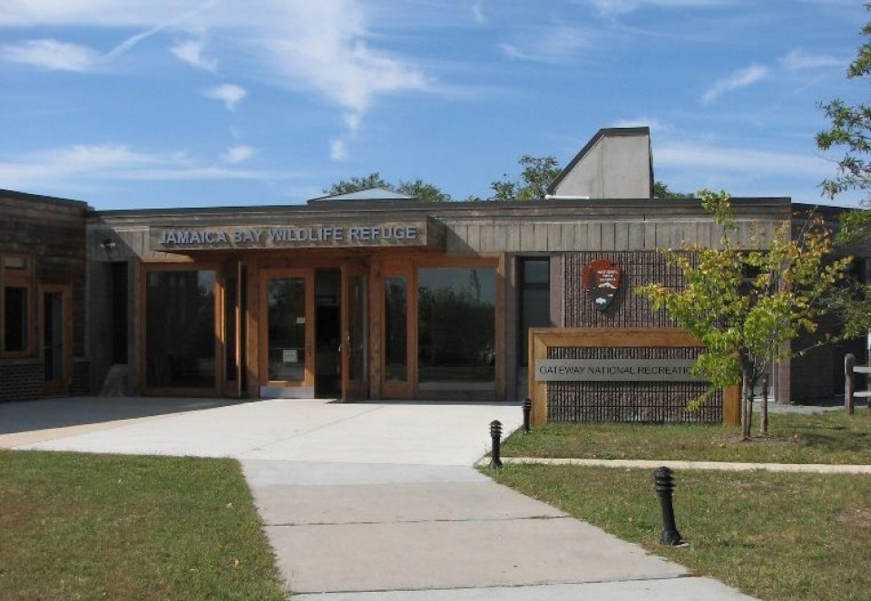 Jamaica Bay Wildlife Refuge visitor center at Gateway National Recreation Area