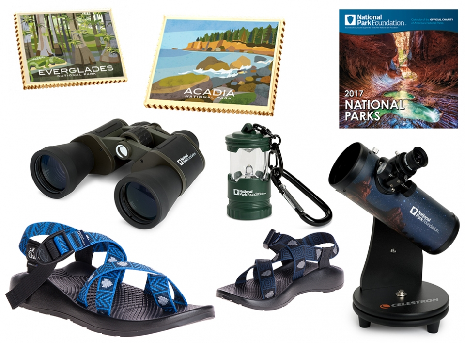 Collage for National Parks 2016 Gift Guide