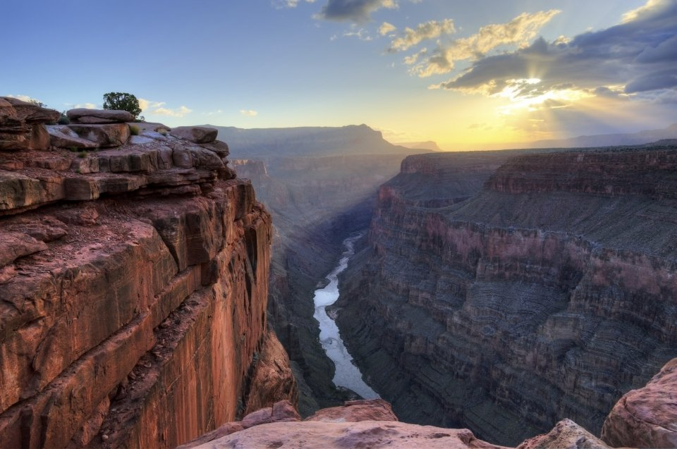 Toroweap Point at the Grand Canyon