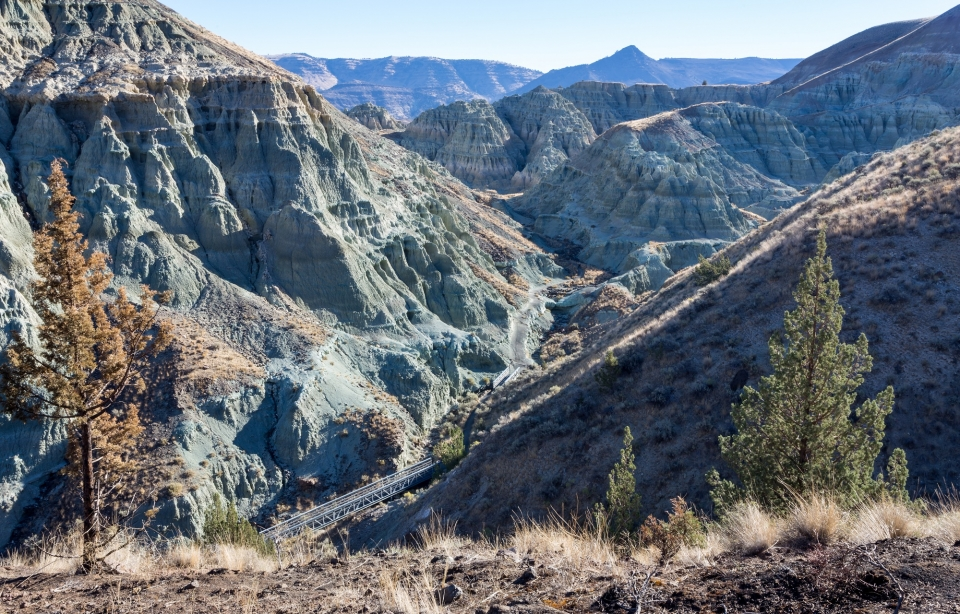 John Day Fossil Beds NM Blue Basin view