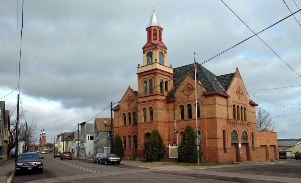 City Hall at Keweenaw National Historical Park