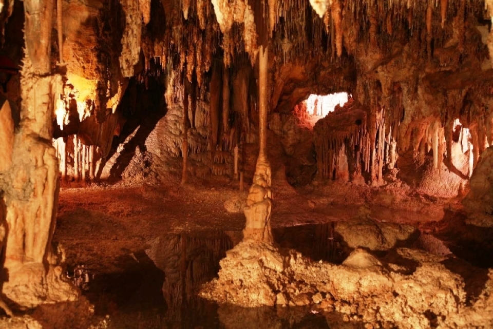 Underground Lehman Caves at Great Basin National Park