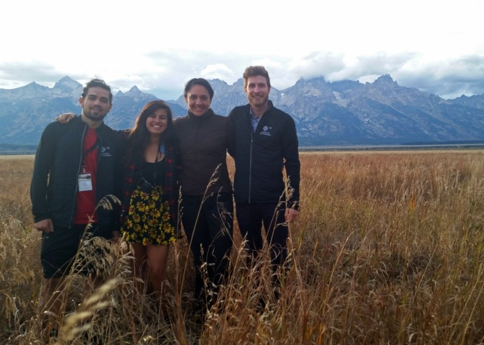 Latino Outdoors Ambassadors in Grand Teton