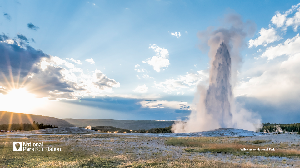 Yellowstone National Park desktop wallpaper