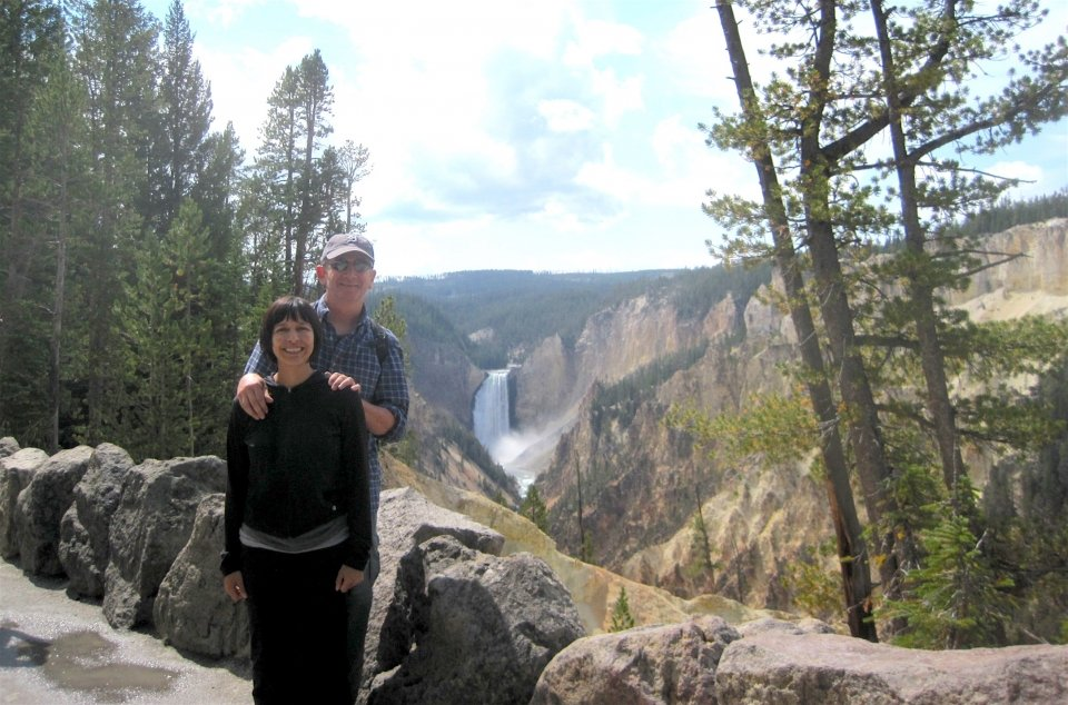 Rob Miller in Yellowstone National Park