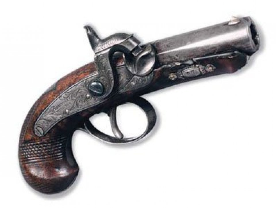 Gun that shot Lincoln